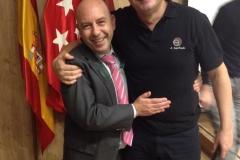 A. Saiz Pardo junto a Eduardo Blanco GC