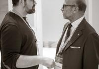 Dr. Fernando Rey y Prof. Francesco Mangani-min