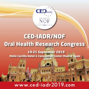 CED-IADR Oral Health Research Congress