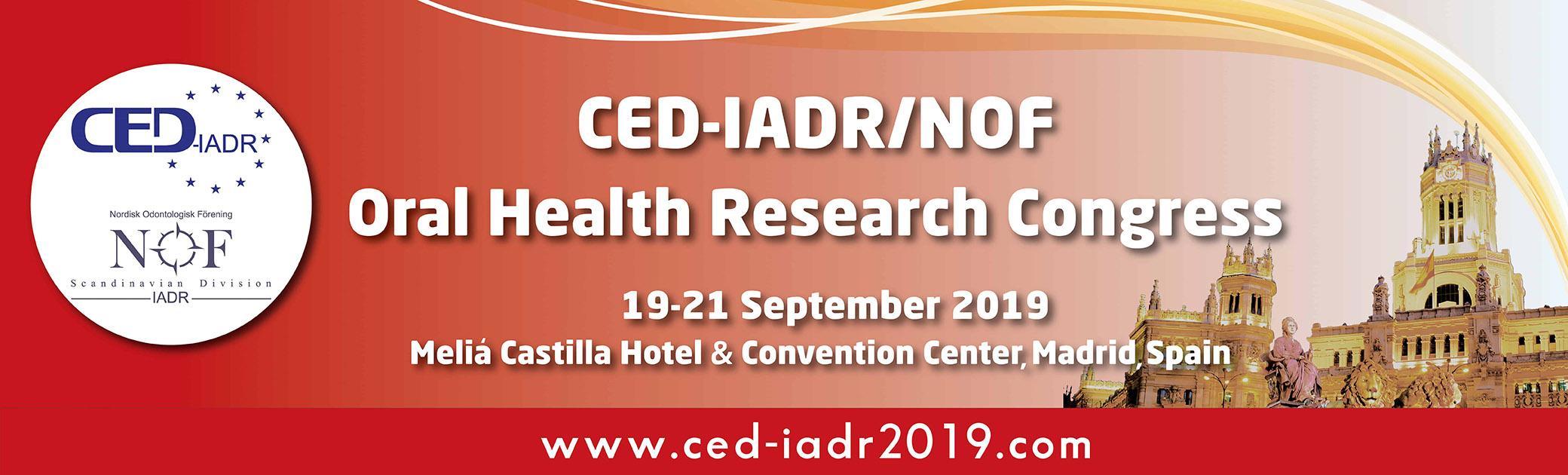 CED-IADR Oral Health Research Congress_web